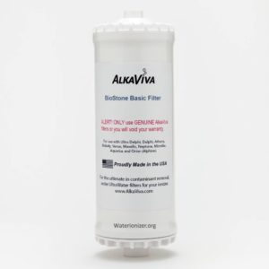 Biostone Basic Replacement Filter for Alkaviva Ionizers